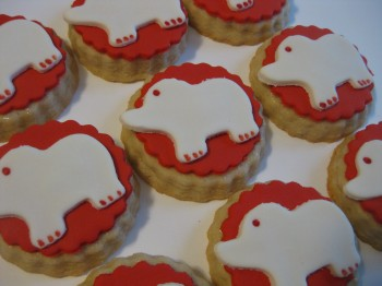 Elephant Tea Cookies, 1 dozen