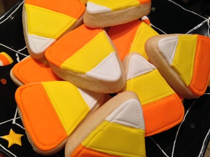 Candy Corn, 6 cookies